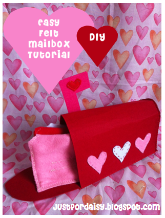Just For Daisy :: Felt Mailbox Tutorial