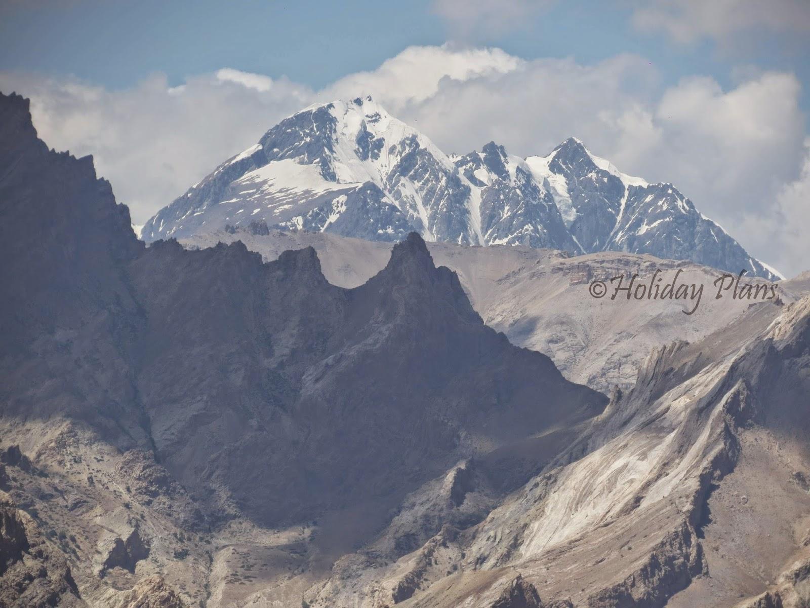 Himalayan snow peaks