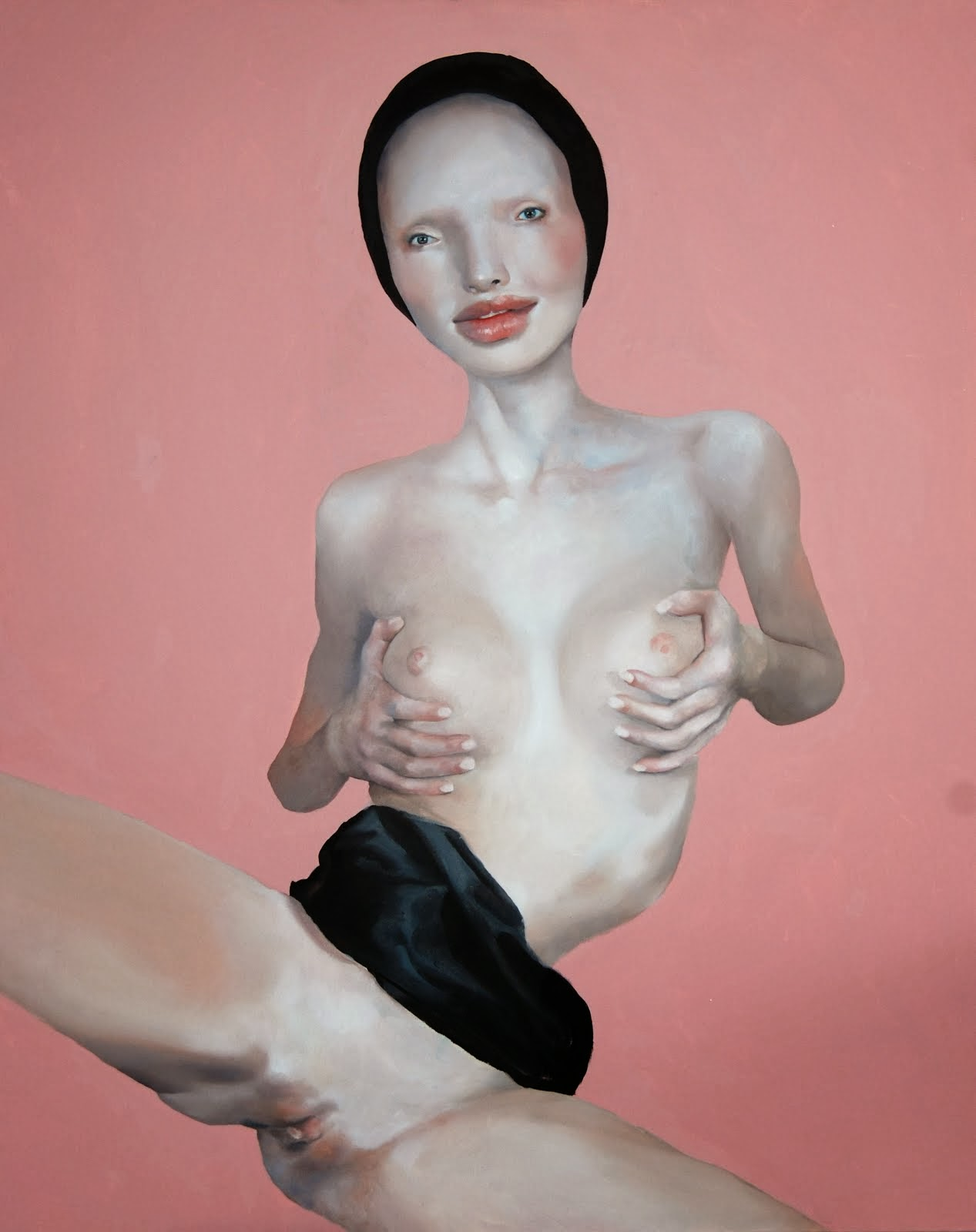 """Pretty Pink"" Juan Palomares Parking Gallery"