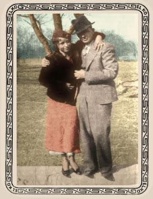Bonnie and Clyde in color !