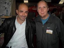 con Eduardo Sacheri en Librarte 2011
