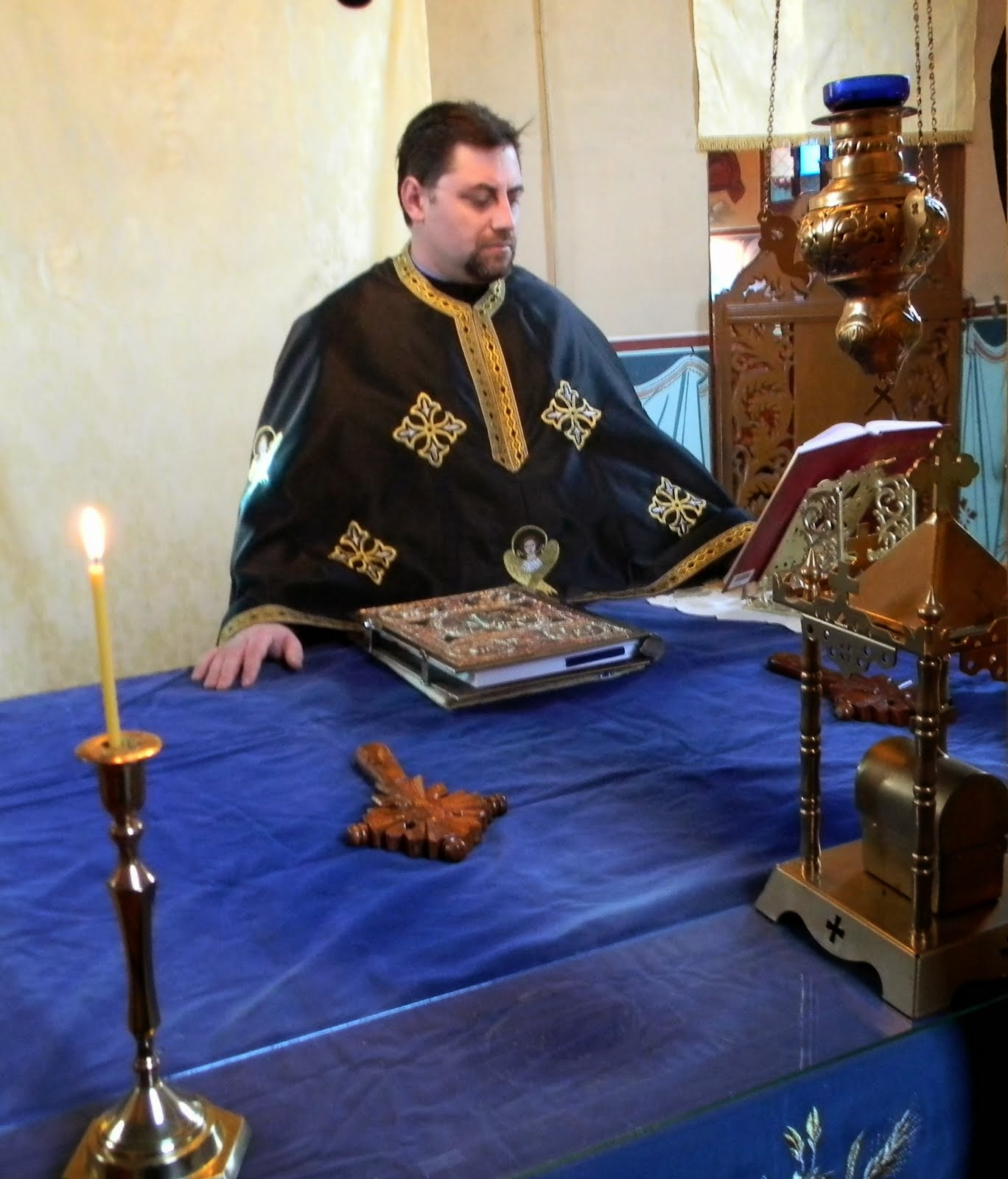 Liturghia Darurilor mai inainte sfintite - 4 martie 2015