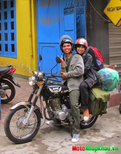 Đôi vợ chồng chuẩn bị tuần trăng mật vòng quanh các nước Đông Dương và Thái Lan.