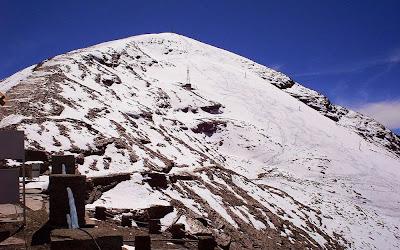 Pico Chacaltaya – Bolívia - 5421m