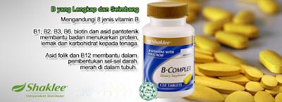 kebaikan vitamin bcomplex