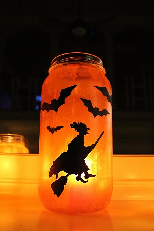 Как сделать фонари на хэллоуин из банок - Asynet.ru