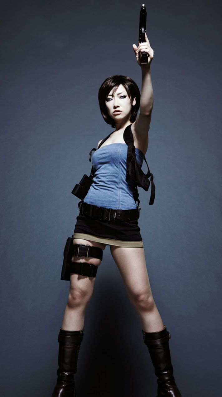 Animation New Jill Valentine Cosplay Resident Evil Game