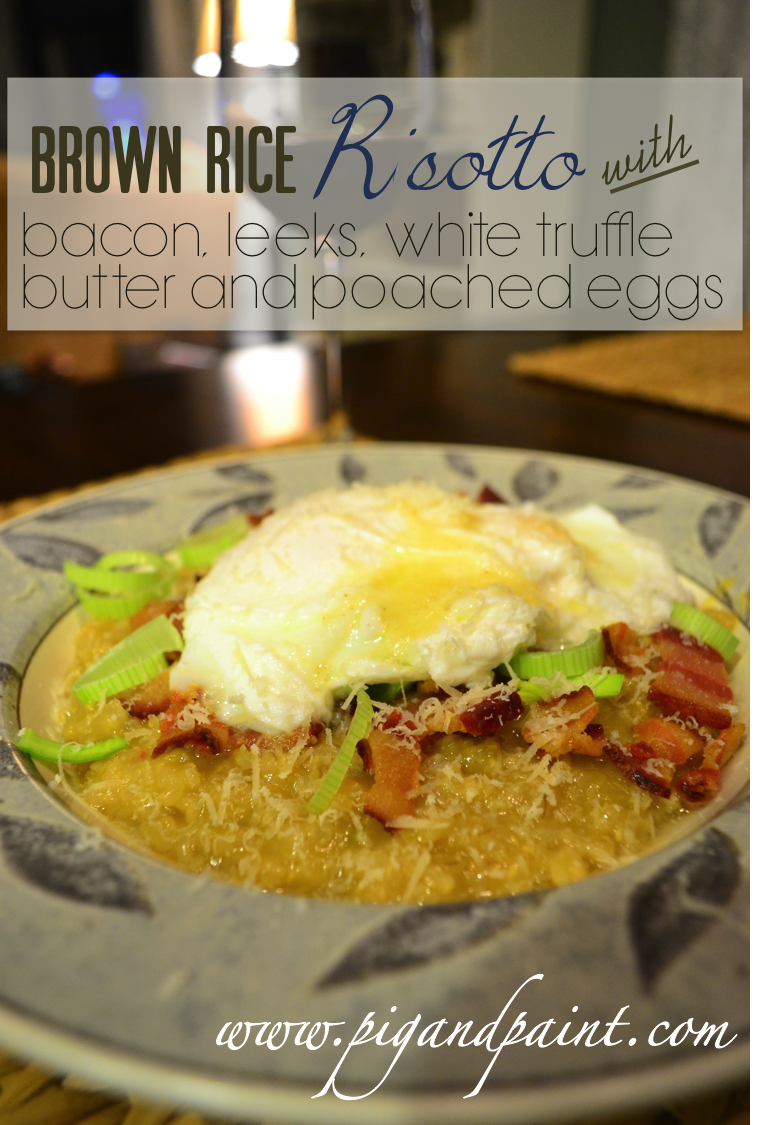 ... Bacon and Leek Risotto (which can be access by clicking here