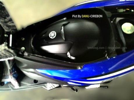 Inilah Bagasi dari Yamaha Aerox 125 LC
