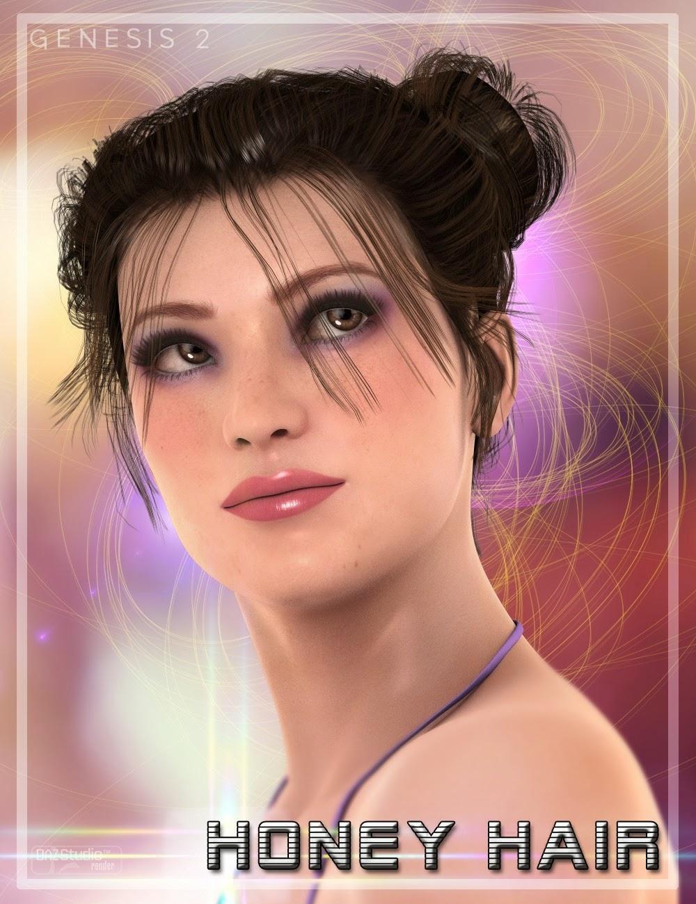 Honey cheveux pour Genesis 2 Femme