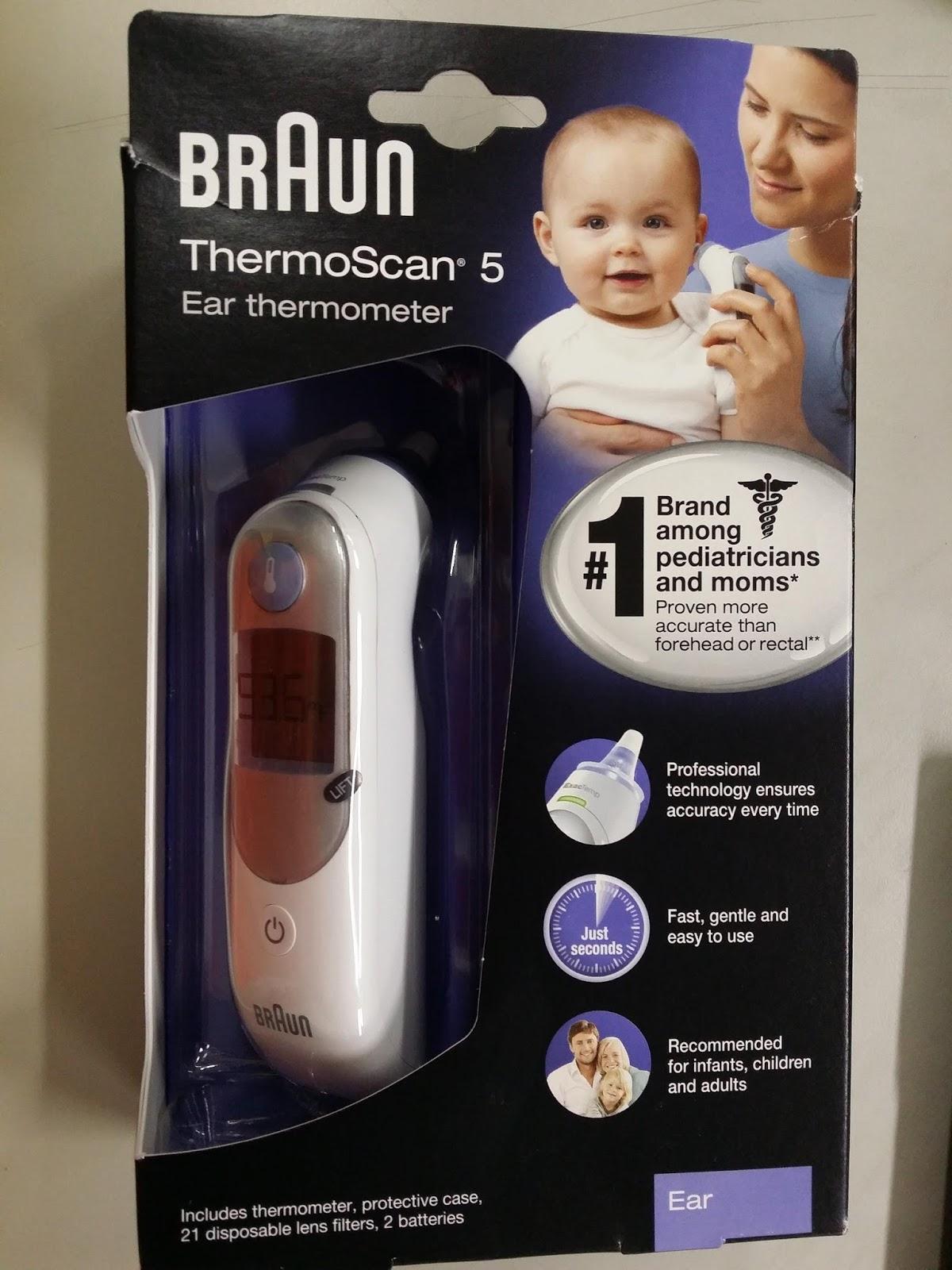 Braun thermoscan 5 test