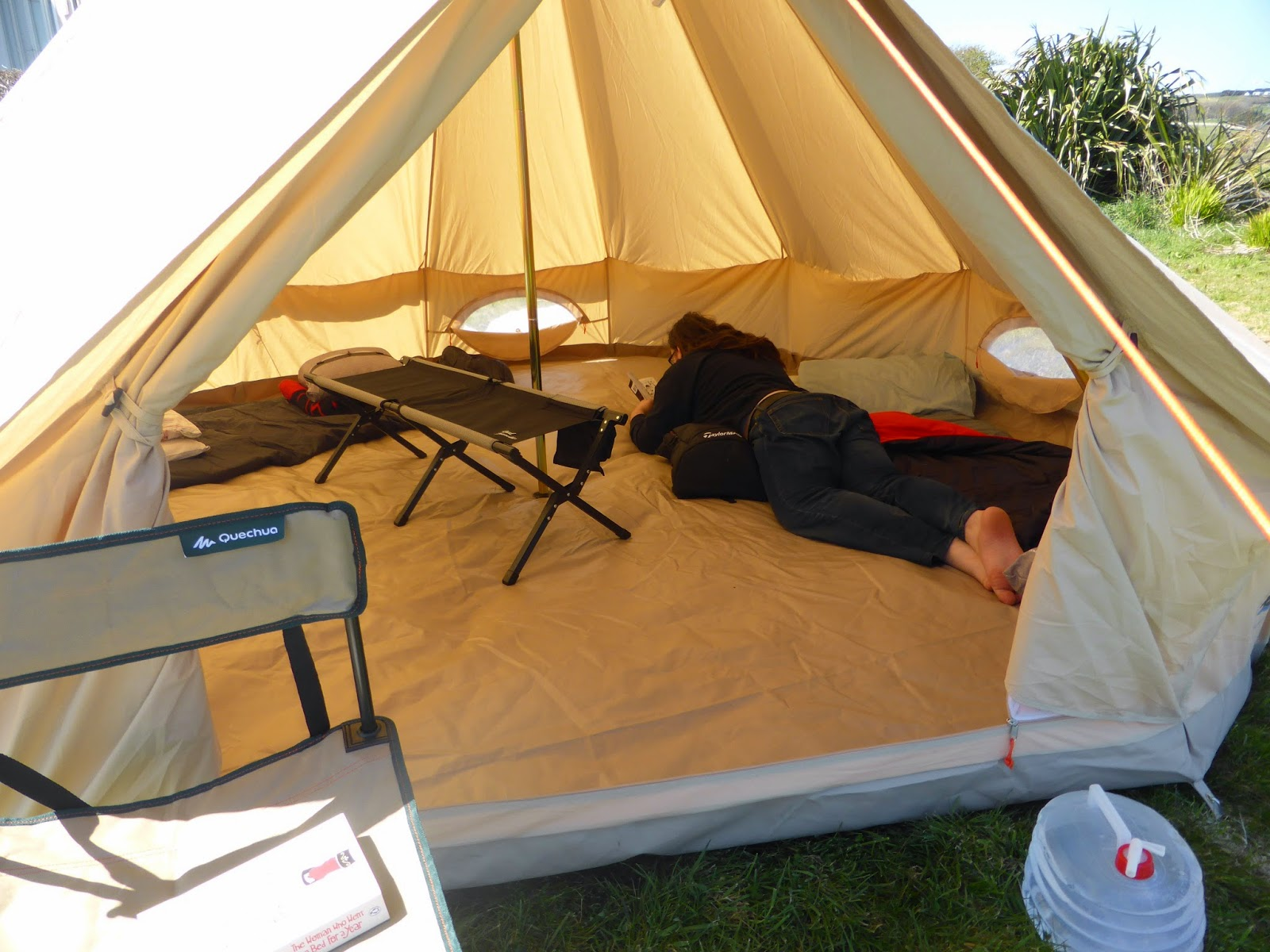 I took it away for a main family fortnight holiday which was a risk because if this Bell Tent was going to get on my nerves two weeks in the rain in ... & Campervic: Bell Tent thoughts