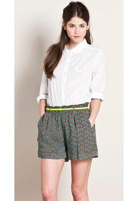 shorts mujer para vestir