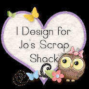 I design for Jo's Scrap Shack