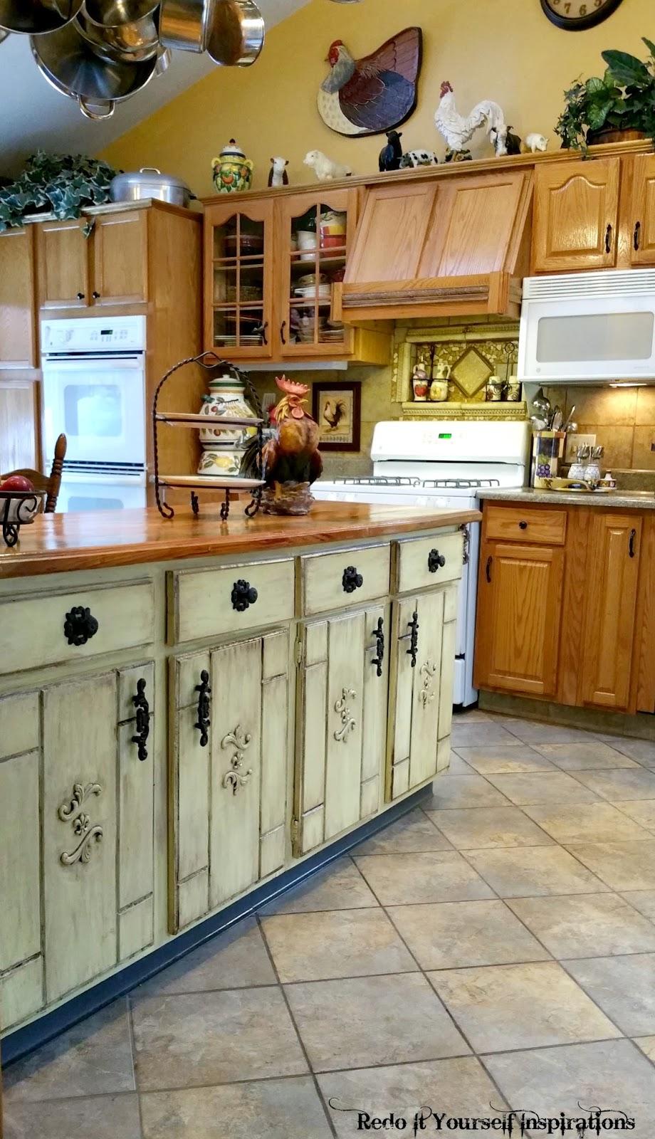 Kitchen Island kitchen island makeover pictures : Kitchen Island Redo | Redo It Yourself Inspirations : Kitchen ...