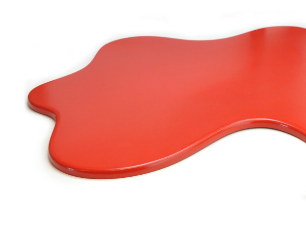 Splash red chopping board spicytec for Splash board kitchen