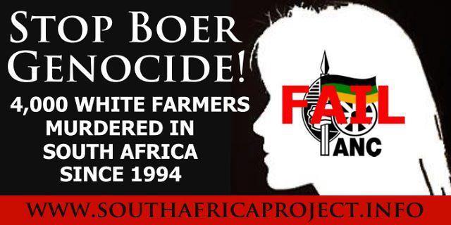 Alto al genocidio afrikáner