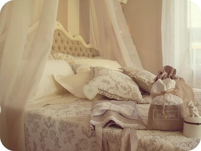 Maison doux shabby bedroom - Blanc mariclo mobili ...