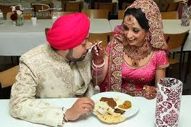 Over Eating at a Sikh Wedding