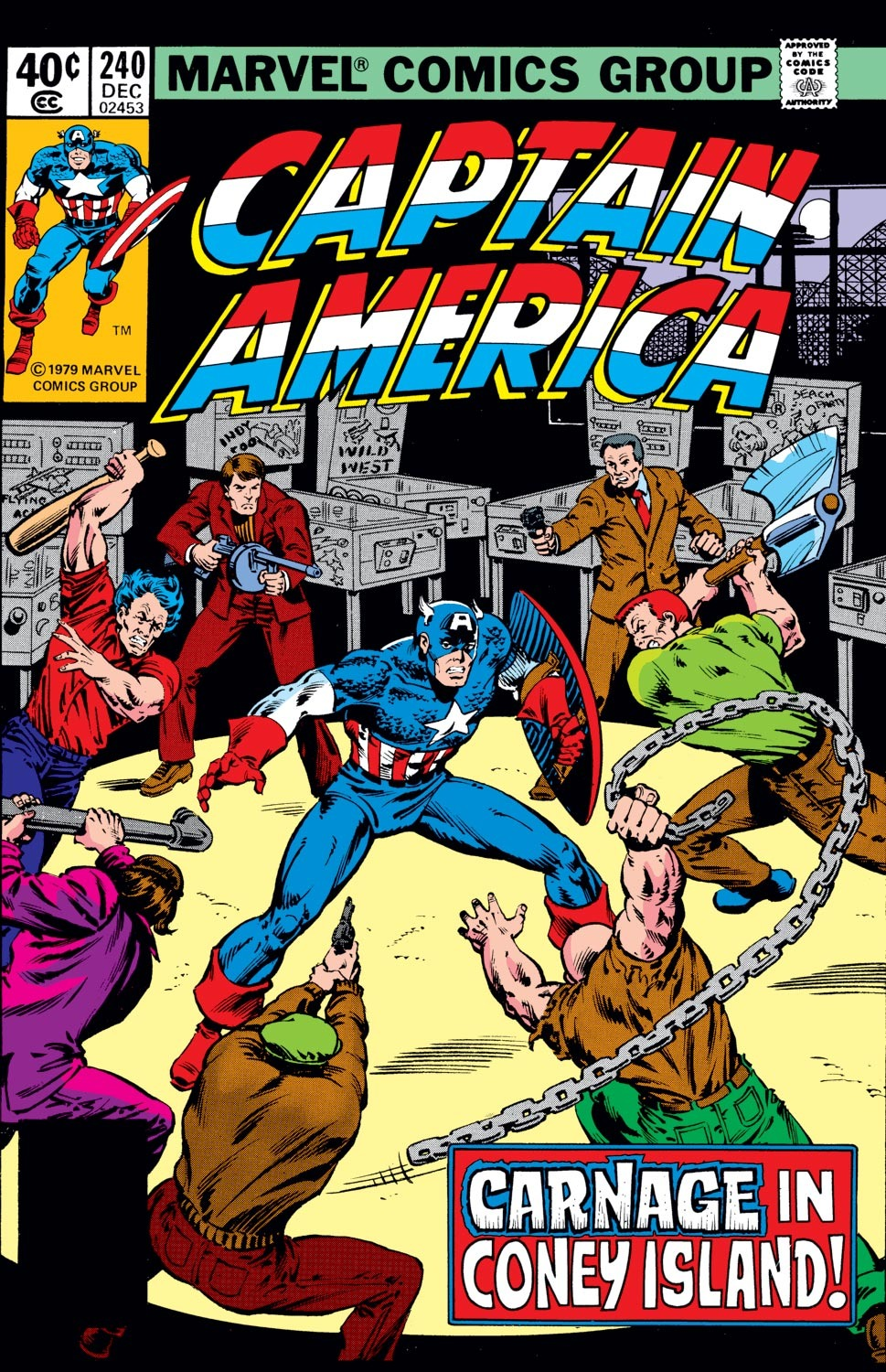 Captain America (1968) Issue #240 #155 - English 1