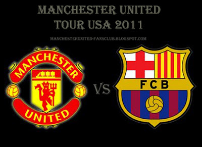 Manchester United v Barcelona Man Utd Tour USA 2011