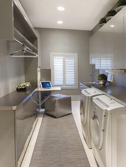 House ideas open concept cocina sala comedor for Modern laundry ideas