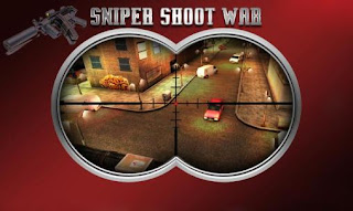 Screenshots of the Sniper shoot war for Android tablet, phone.