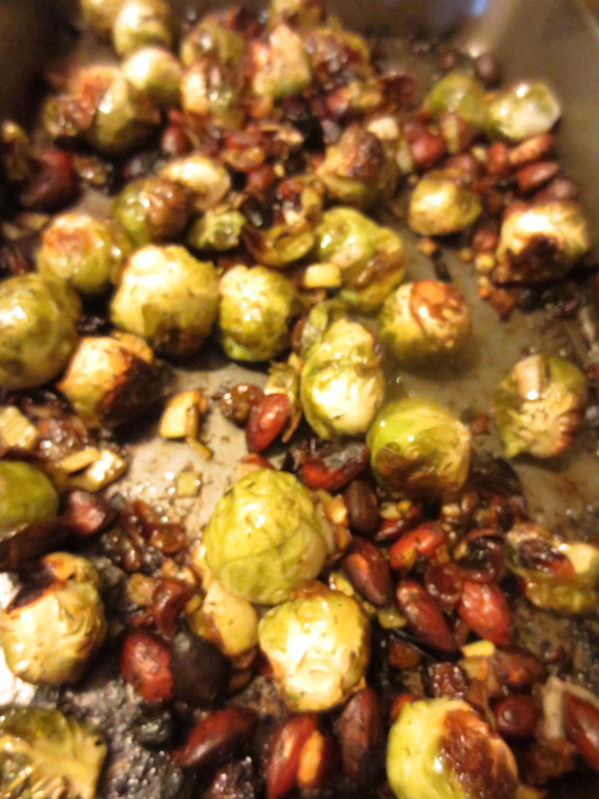 L'Autre Lapin Vert: Quinoa with Roasted Brussels Sprouts ...