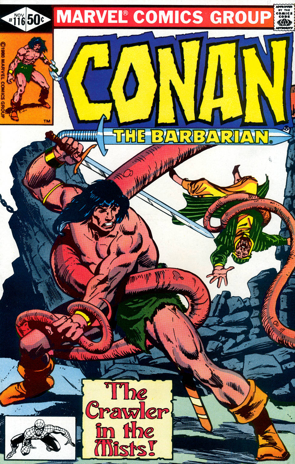 Conan the Barbarian (1970) Issue #116 #128 - English 1
