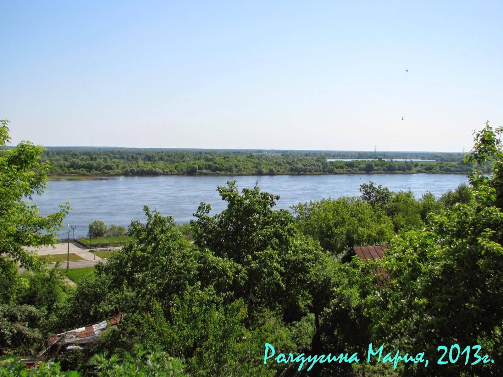 река Ока в Муроме