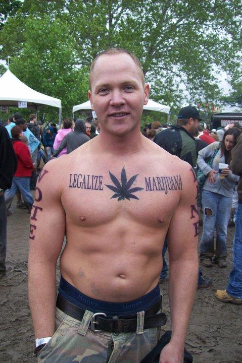 Marijuana Tattoo - Loucas Tatuagens de Cannabis ~ LegalizePR