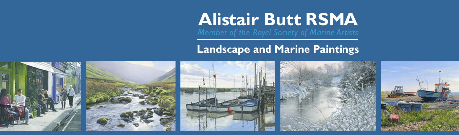 Alistair Butt RSMA - Landscape and Marine Painting Blog