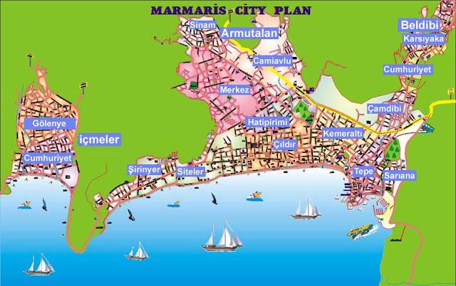Marmaris Maps