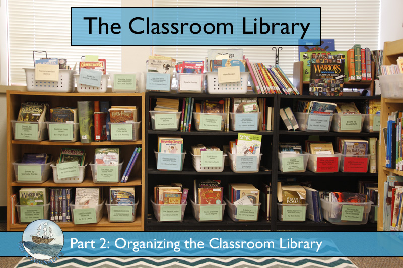 Organizing the Classroom Library | The Logonauts