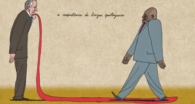 A Importância da Língua Portuguesa, Cartoon