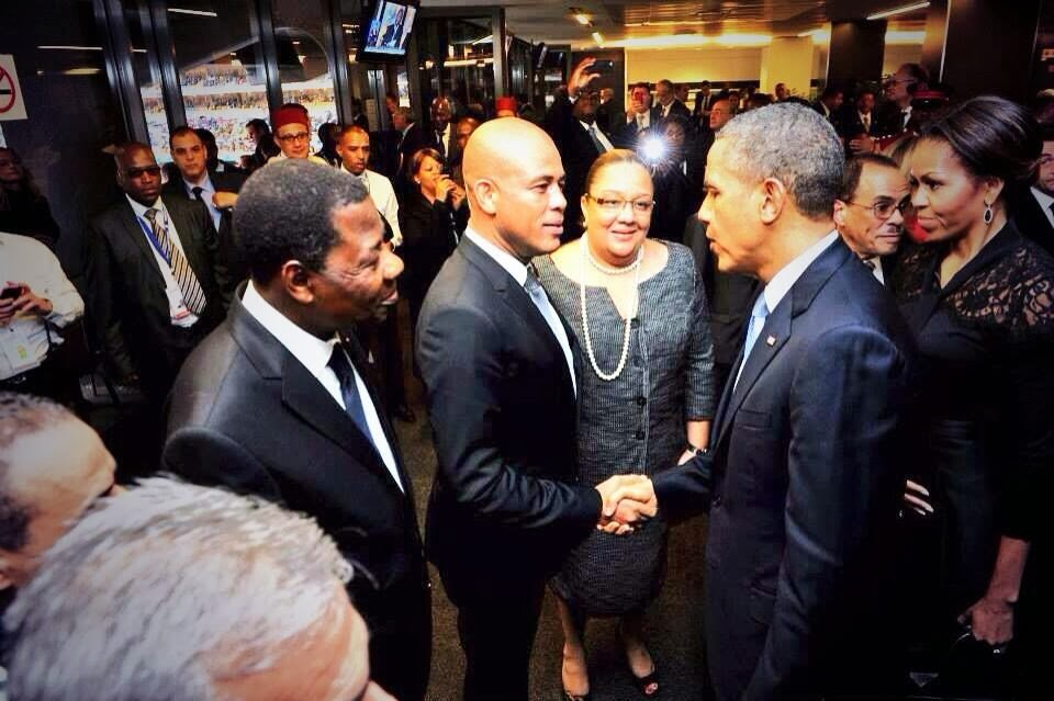 Rencontre obama martelly