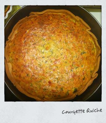 Courgette Quiche