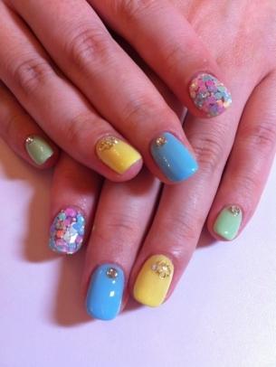 Pretty Nail Art Ideas Summer 2012 Landrys Lifestyles Blog