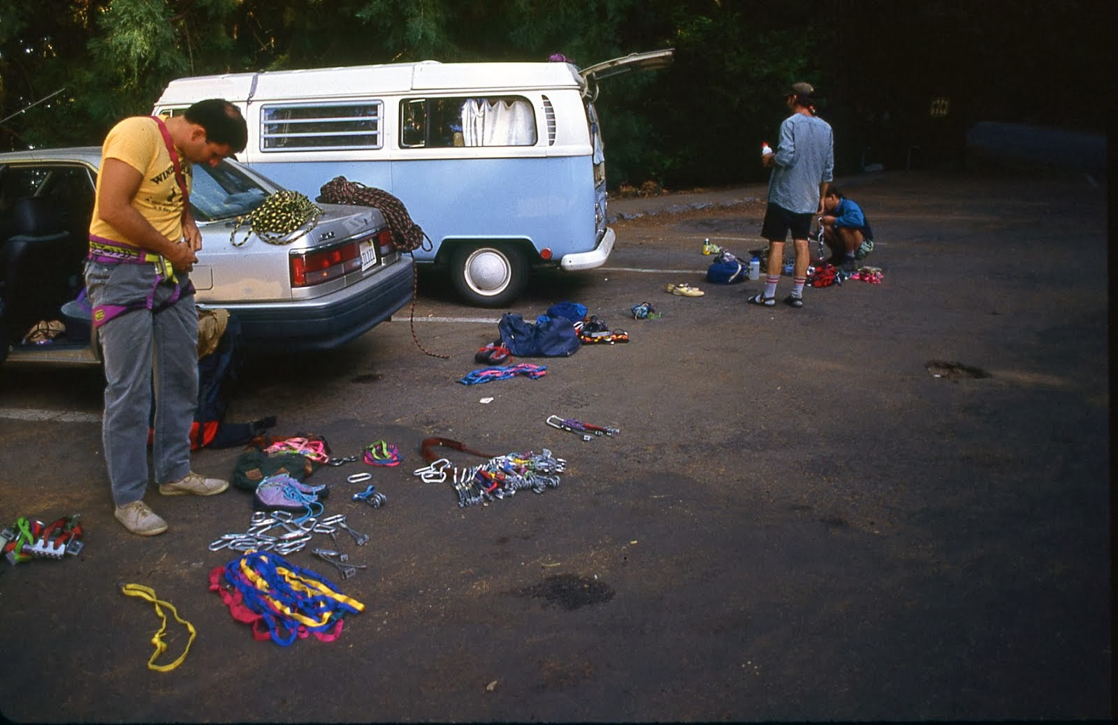 Weekend at the Moro Rock Parking Lot