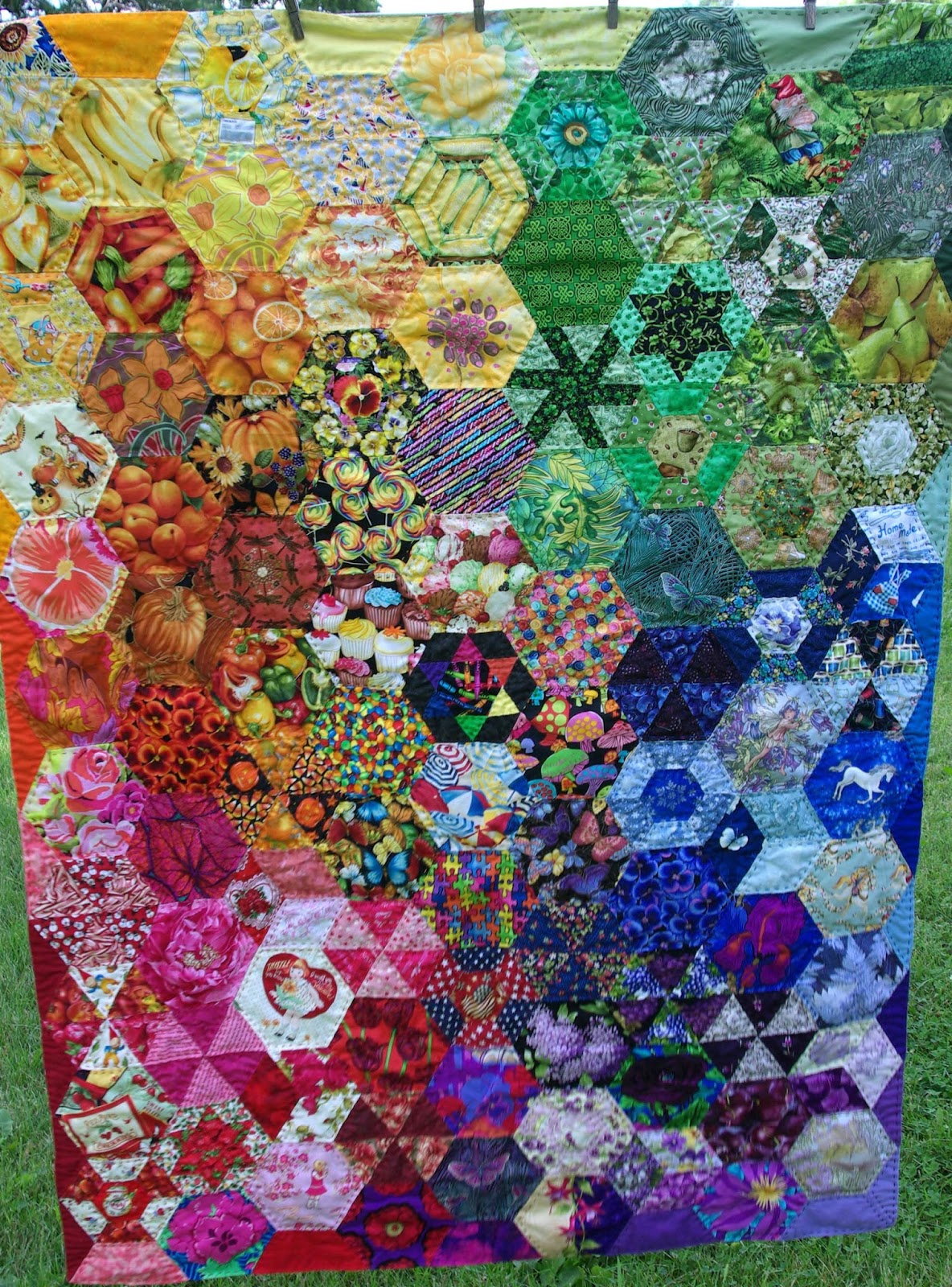 Sane Crazy Crumby Quilting A Rainbow of Favorite Things