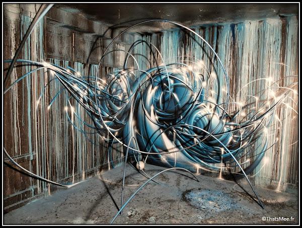 Tour Paris 13 street art MP5 france