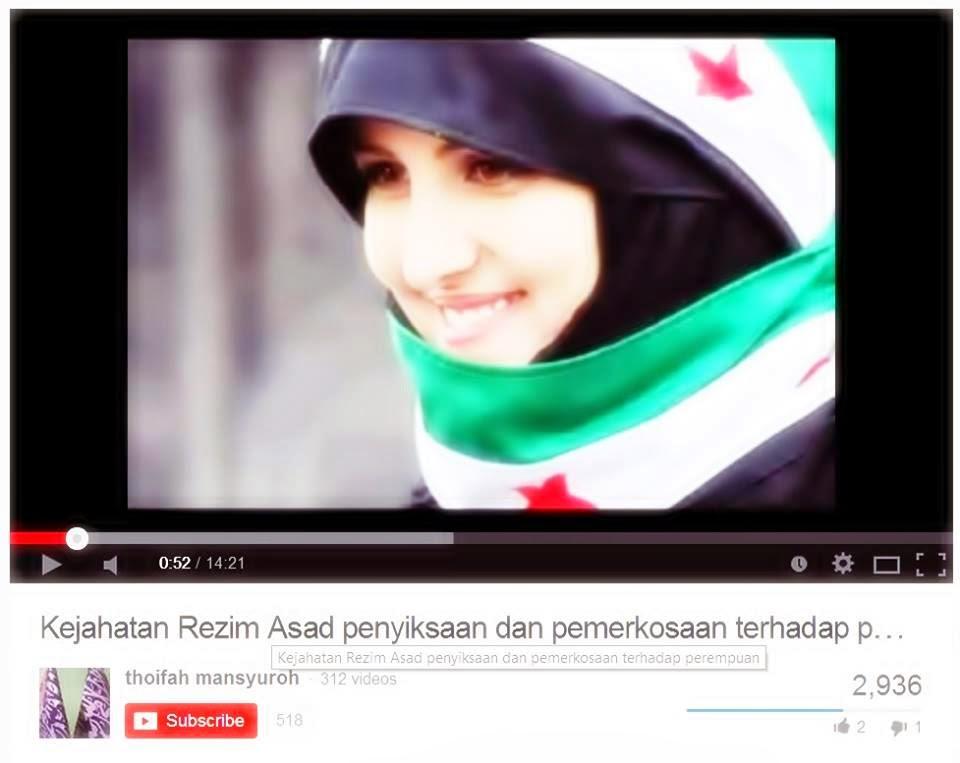 Rogol Cara Keji Rejim Assad Hadapi Mujahidin Islam di Syria
