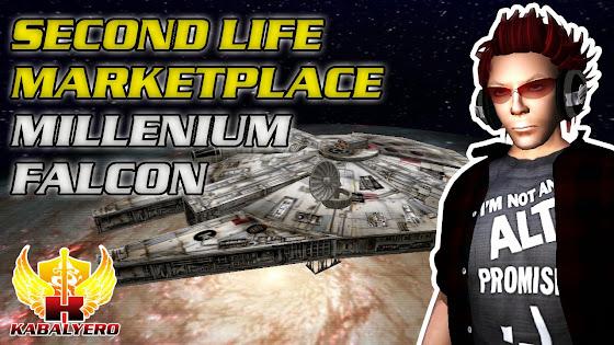 Second Life Marketplace - Millenium Falcon