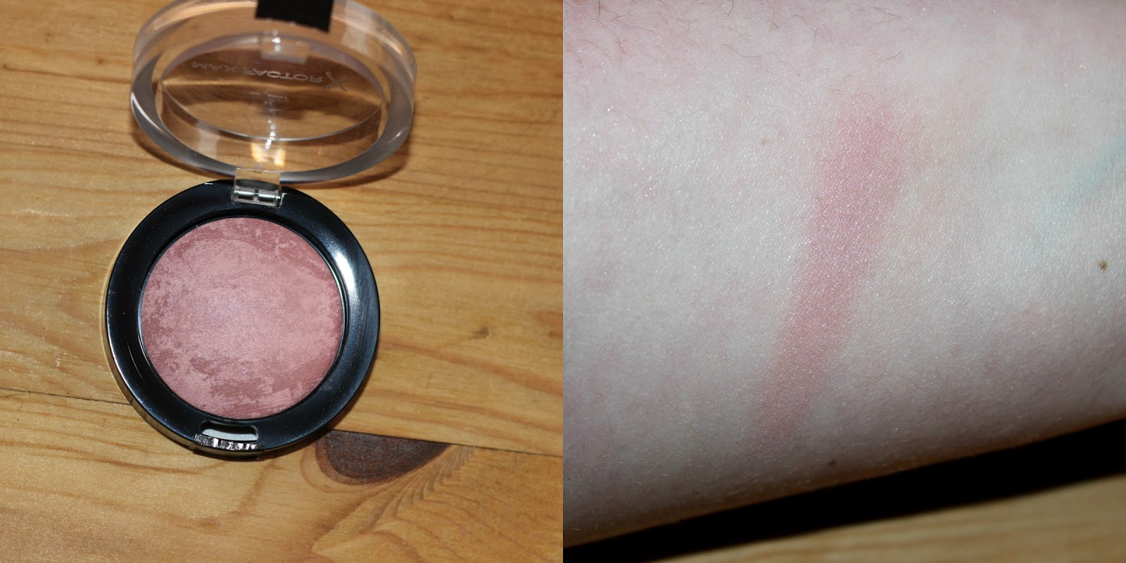 Maxfactor Creme Puff Blush In Lavish Mauve Swatch