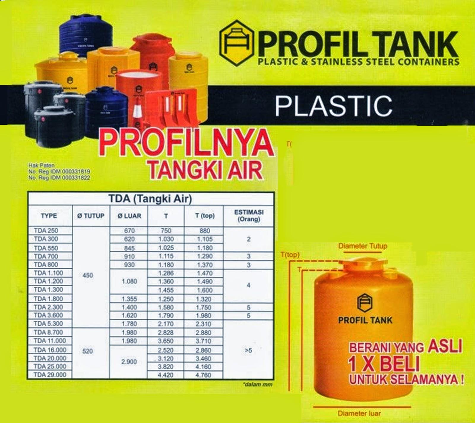 tandontangkiairprofiltankplastik