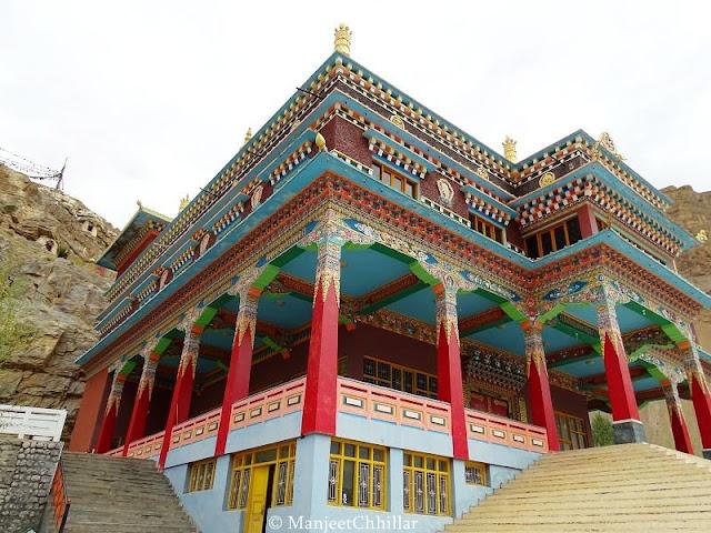 Sakya Tangyud Monastery, Kaza, Himachal Pradesh