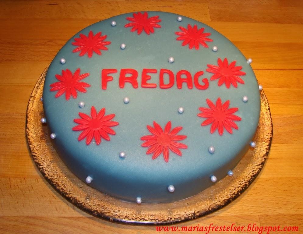 Fredagstårta