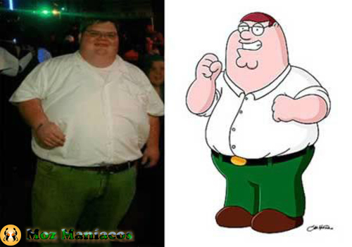 "Peter Griffin de ""Family Guy"""