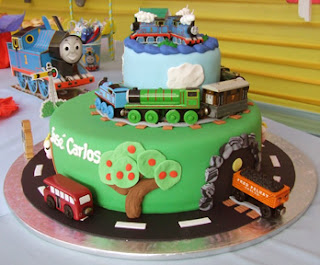 Thomas and Friends cakes for Children Parties Decoration