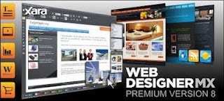 Xara Web Designer, web editor, HTML editor - Free Portable Download Software